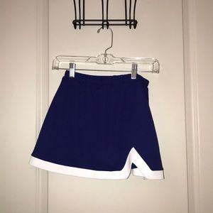 Dresses & Skirts - Blue Varsity Cheerleader Skirt Cosplay